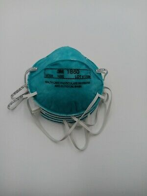 3M 1860 **FDA APPROVED** - 5pcs PARTICULATE RESPIRATOR & SURGICAL N95 MASK