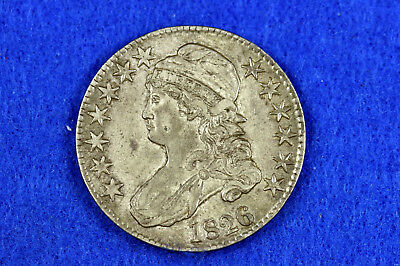 Estate  Find 1826  Capped Bust Half Dollar  #D11114