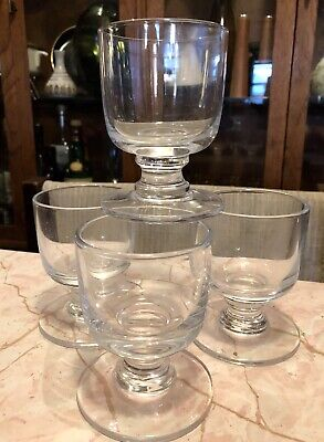 Set 4 Paola Navone Signed MCM Mid Century Modern Cocktail Tumbler Glasses Italy