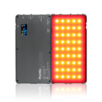 Phottix M200R RGB LED Video Light & 4000mAh Powerbank