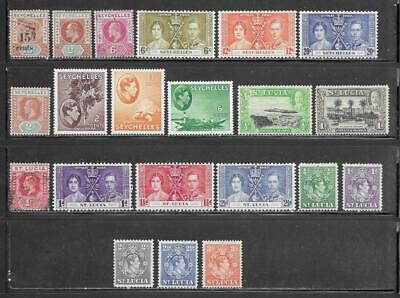 Seychelles-St. Lucia Collection All Pre 1940