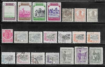 Spanish Colonies Collection Old Stamps