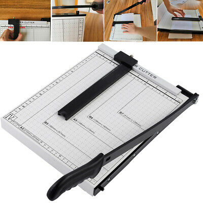 A4 Paper Photo Cutter Professional Trimmer Guillotine Machine Safety Tool Office