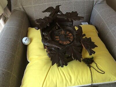 Antique Cuckoo Clock for parts restoration