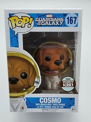 Funko Pop! Marvel Guardians of the Galaxy #167 Cosmo Specialty Series Exclusive