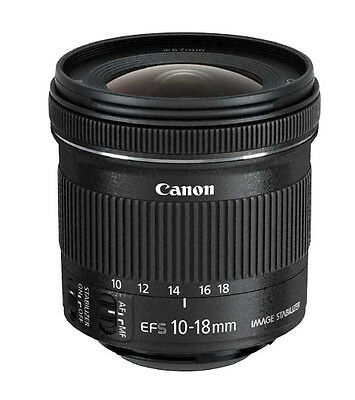 Canon EF-S 10-18mm F/4.5-5.6 IS STM Lens New US Warranty