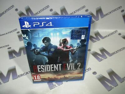 Gioco Playstation 4 Ps4 Resident Evil 2 Uk Nuovo