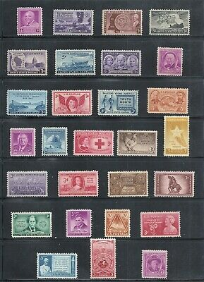 1948 - Commemorative Year Set - US Mint Stamps -a