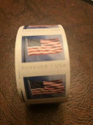 4 Sealed Rolls of USPS Forever Stamps (400 First Class stamps)