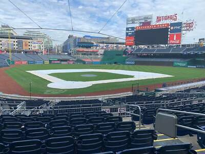 June 7 2020 Washington Nationals Vs New York Mets 2 Diamond Club Tickets Row F