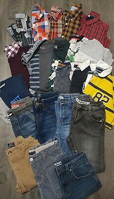 BOYS CLOTHING BUNDLE AGE 8-9 Years JEANS,TOPS,SHIRTS,NEXT,M&S,GAP,OUTFIT,SET