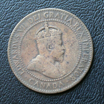 Canada 1906 Large Cent King Edward VII