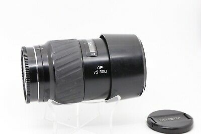 Minolta AF 75-300mm f/4.5-5.6 D AF Lens (black) for Sony Alpha DSLR SLT 20406501