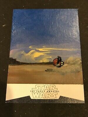 Topps Star Wars 1/1 Sketch Card Darth Maul Force Awakens Ingrid Hardy Sp 2016