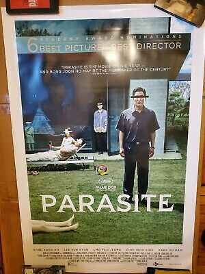 Parasite Movie Poster 27x40 DS Oscar Nominated Version Bong Joon Ho