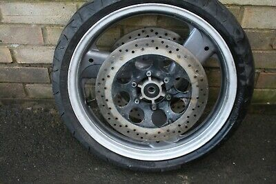sinnis stealth 125 front wheel brake disc and tyre discs twin vgc