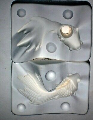 "1977 Duncan Ceramics Mold TM 24A "" Butterfly Koi"" Fish"