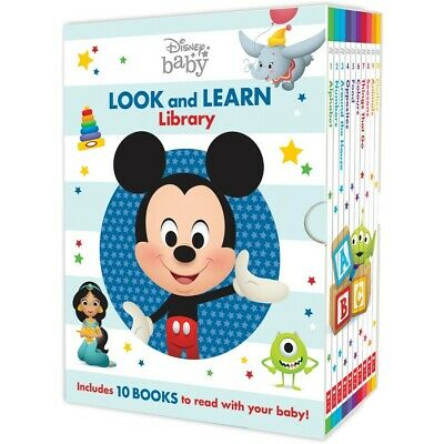 Disney Baby: Look and Learn Library Box Set