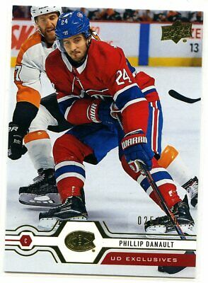 2019-20 UD Upper Deck EXCLUSIVES /100 Phillip DANAULT #49
