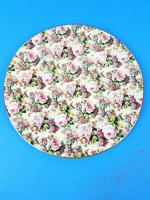 Chintz Collection Royal Garden Floral Pattern Dinner Dish Plate