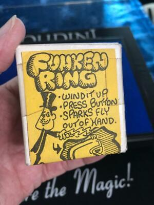 Funkin Ring • Made in Germany • Comedy Spark Ejector • Old New Stock • Tested