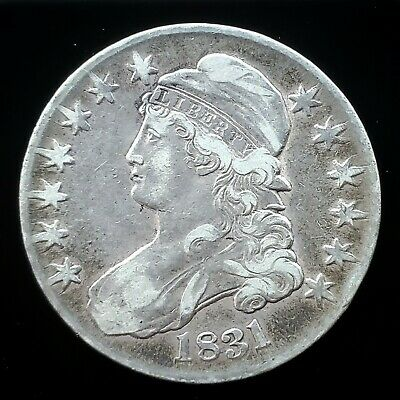1831 Capped Bust Half Dollar | *Silver*  -Very Fine!-   *201