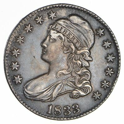 1833 Capped Bust Half Dollar - Circulated *0696