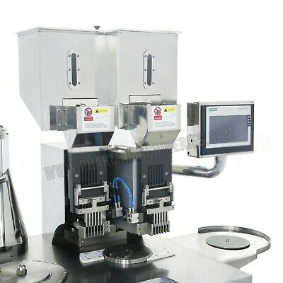 Double loading system-Semi Automatic Cap. Filling Machine- up to 50,000 pcs /hr