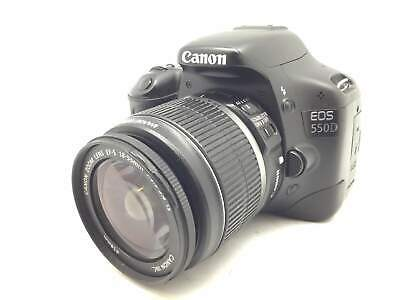 Camara Digital Reflex Canon Eos 550D+Ef-S 18-55Mm 1:3.5-5.6 Is 5549312