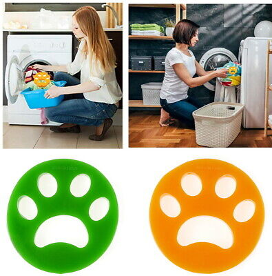 2 Pcs Pet Reusable Lint Remover Cat Dog Hair Catcher from Washing Machine Dryer