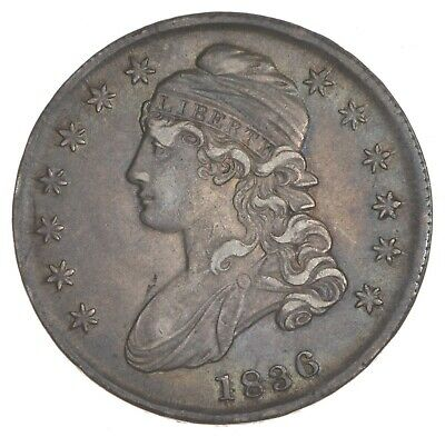 1836 Capped Bust Half Dollar - Lettered Edge *7393