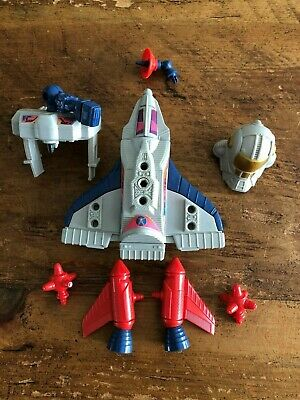 CENTURIONS Weapon Ace McCloud Orbital Interceptor Leg Booster 1986 Original Part