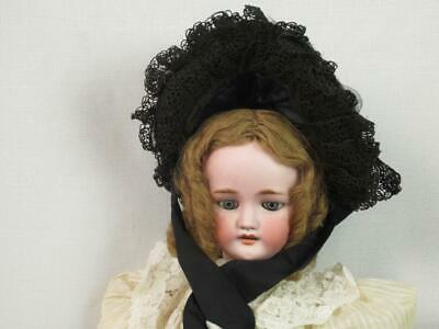 *Antique Doll Size Hat / Bonnet -  Vintage early 1900, Late 1890 Child Millinery