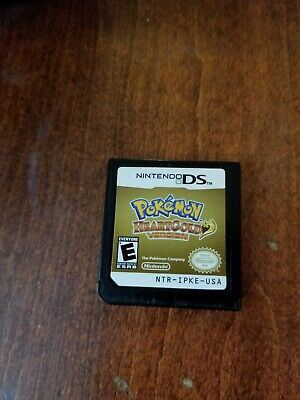 Pokemon: HeartGold Version (Nintendo DS, 2010) CARTRIDGE ONLY