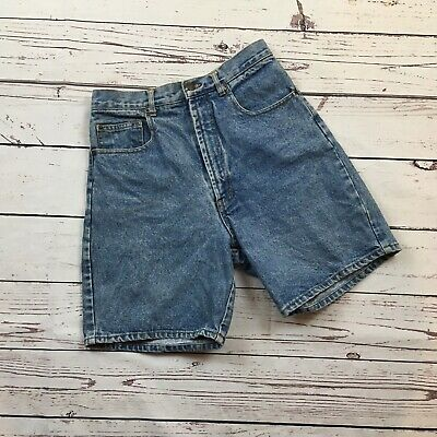 "Vintage Willi Wear High Waist Denim Shorts size 10 Measures 28"" Medium Wash"