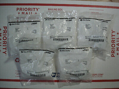 lot of 5 Allen-Bradley 800T-N93 1 inch Guard For Illuminated Push Button Units