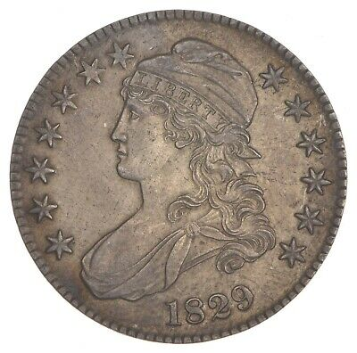 1829 Capped Bust Half Dollar *7395