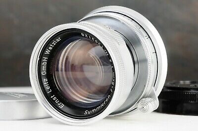 :Leica Leitz Summicron 5cm 50mm f2 Collapsible M Mount Lens [EX+++]