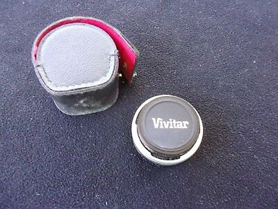 Vivitar 2X-4 FL-FD Automatic Tele Converter with case, pre owned.