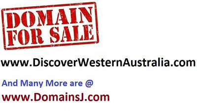 www.DiscoverWesternAustralia.com internet domain name is for sale
