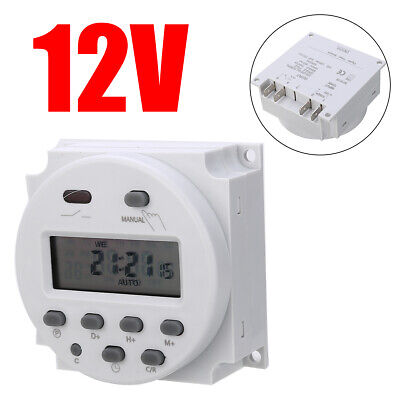 Kit CN101A 12V LCD Temporizzatore digitale programmabile Timer Power Timer
