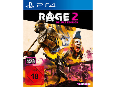 Playstation 4 Spiel Rage 2 Deluxe Edition Neu & Ovp Ps 4