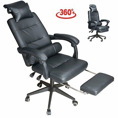 Racing Chair Sport Swivel PU Leather Mesh Gaming Desk Executive Office Chairs