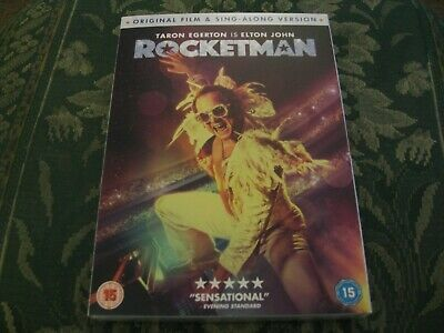 Rocketman (DVD, 2019) BRAND NEW SEALED