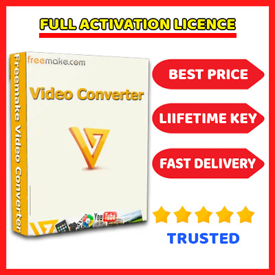 Freemake Video Converter 4.1.1 🔑 Lifetime License key ⭐ Fast Dilevery