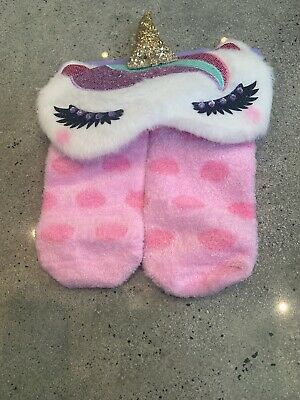 claires accessories Socks & Eye Mask