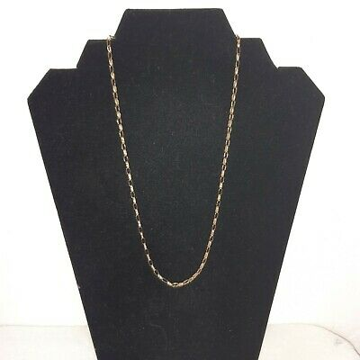 9ct Gold Chain Link Necklace 5g