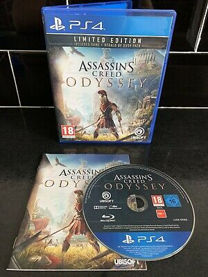 ASSASSINS CREED ODYSSEY - PS4 PlayStation 4 Game