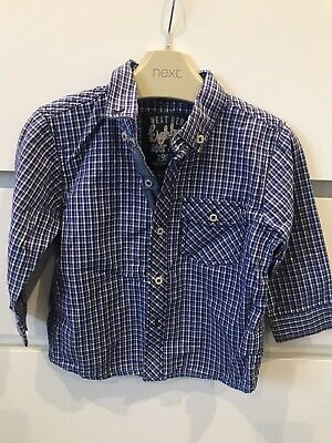 Boys Next Shirt 9-12 New Without Tags