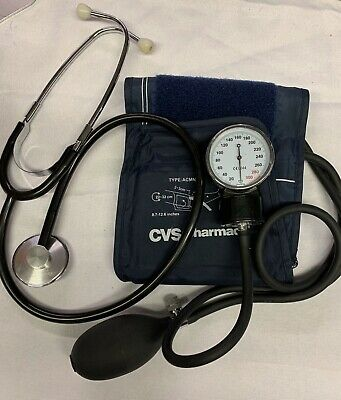 Blood Pressure Cuff -Manual Adult Arm BP Monitor With Stethoscope